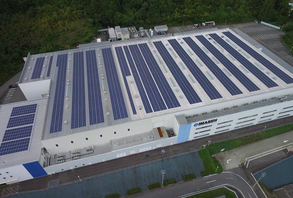 岐阜工場 太陽光発電導入